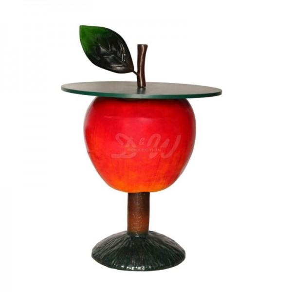Apfel rot Tisch 143 cm Möbel für Obsthof