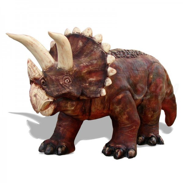Dinosaurier Triceratops 465 cm