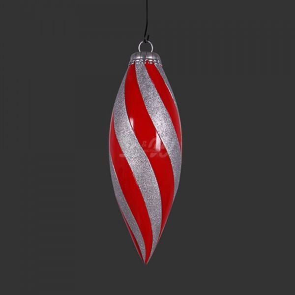 D&W Collection Deko Werbe Figur Weihnachtsbaum-Anhänger Kugel Advent Weihnachts Dekoration Garten Werbung günstig kaufen