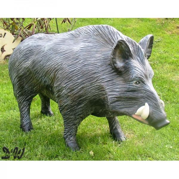 Wildschwein Keiler stehend (groß)