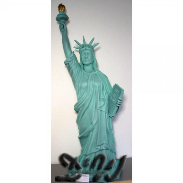Freiheitsstatue 126 cm grün Originalfarbe
