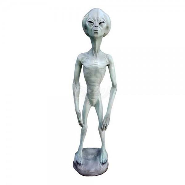 D&W Collection Deko Werbe Figur Restaurant Hotel Alien Roswell Außerirdische Werbung