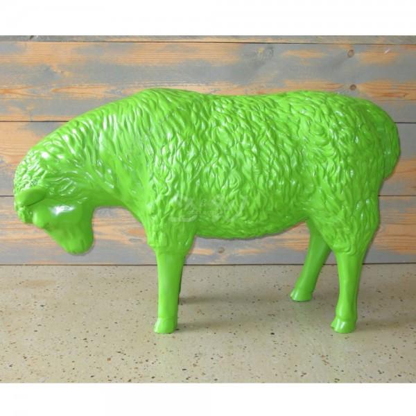 D&W Collection Deko Werbe Tier Figur Schaf grasend grün Garten Dekoration günstig kaufen