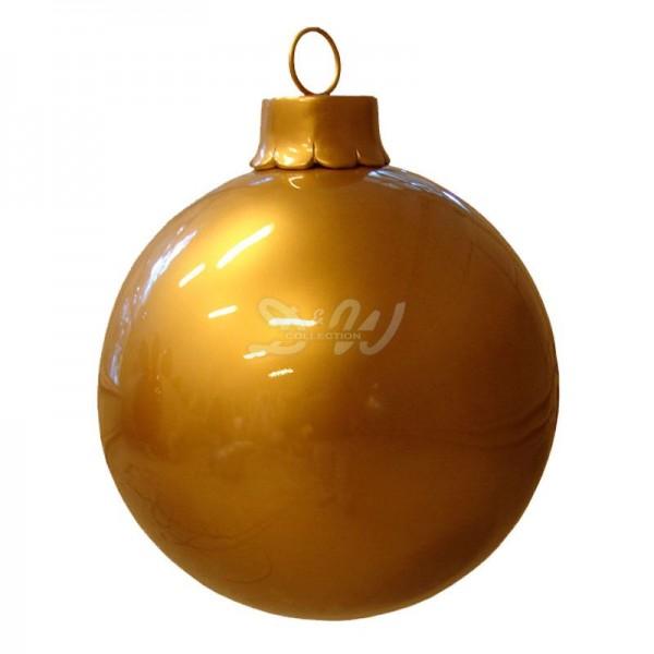 Weihnachtsbaum-Kugel 60 cm Durchmesser gold zum Aufhängen