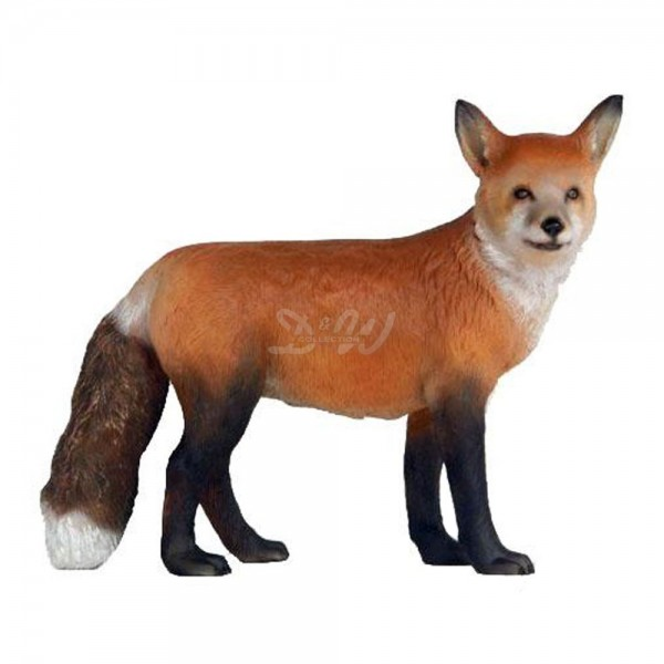 Fuchs stehend (lebensgroß)