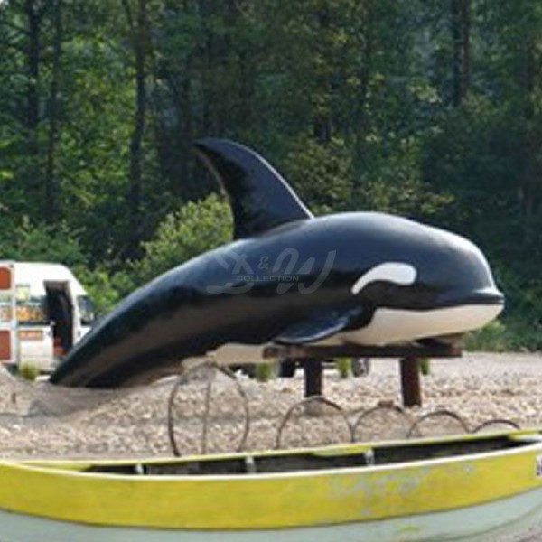 Orca - Schwertwal (lebensgroß)