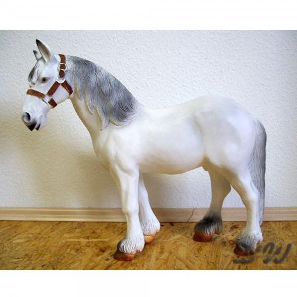 """Pferd """"Schimmel"""" weiß (klein)"""