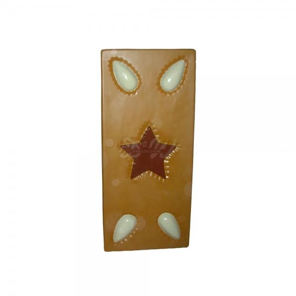 Lebkuchen mit Mandeln und Stern 140 cm