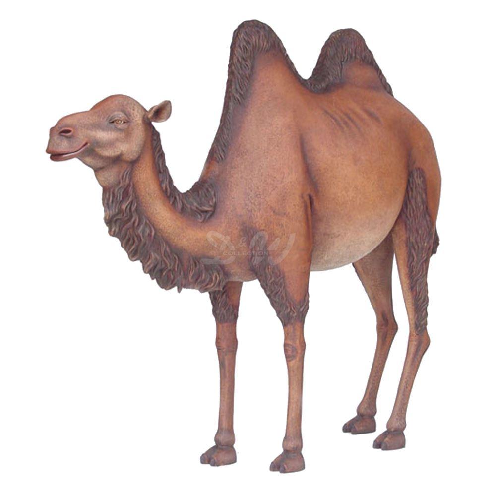 kamel trampeltier stehend lebensgross dromedare