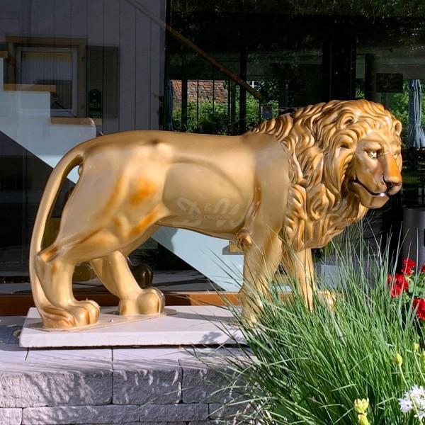 D&W Collection Deko Werbe Wild Safari Afrika Tier Figur Löwe Lion Zoo Tierpark Freizeitpark Garten Dekoration Werbung günstig kaufen