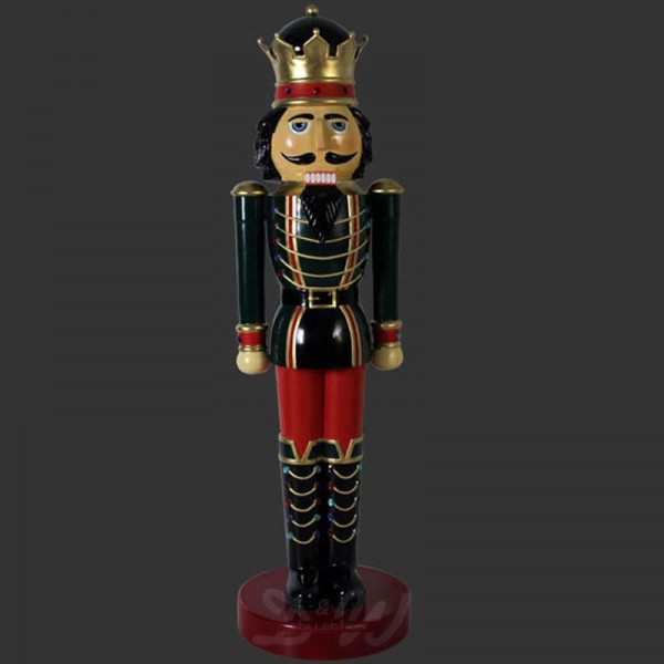Nussknacker König / Spielzeugsoldat (überlebensgroß) 201 cm