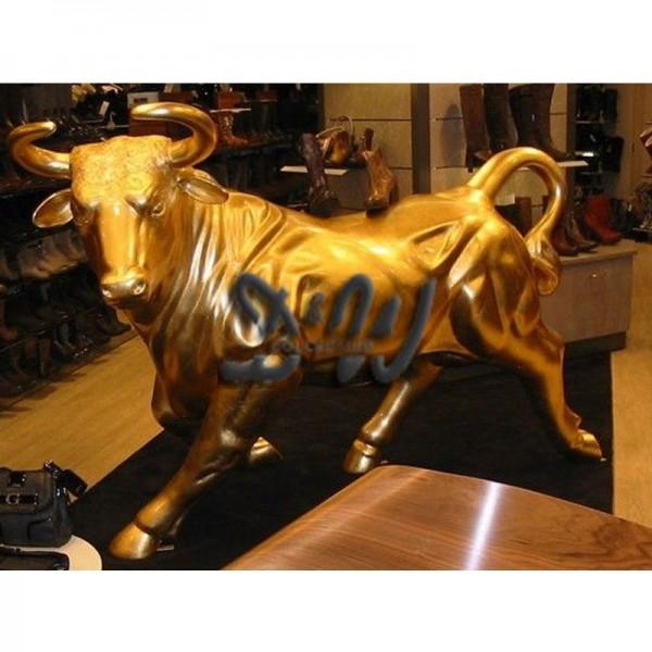 spanischer Stier/Bulle Carlos Blattgold (lebensgroß)