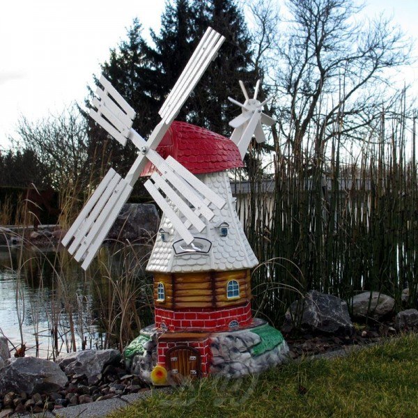 "Windmühle ""Luise"" weiß - Kopfhöhe 65 cm"