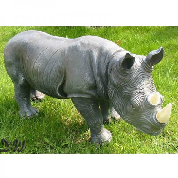 Nashorn stehend (klein)