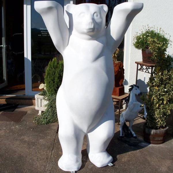 Bär aufrecht stehend Rohling (lebensgroß)