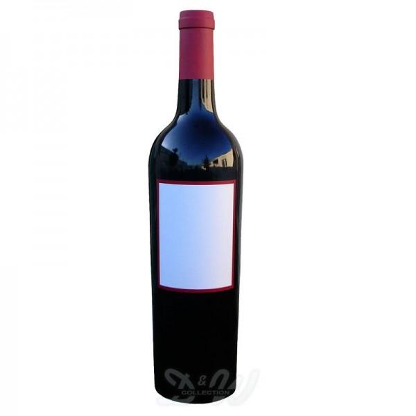Weinflasche Kapsel rot oder weiß 240 cm
