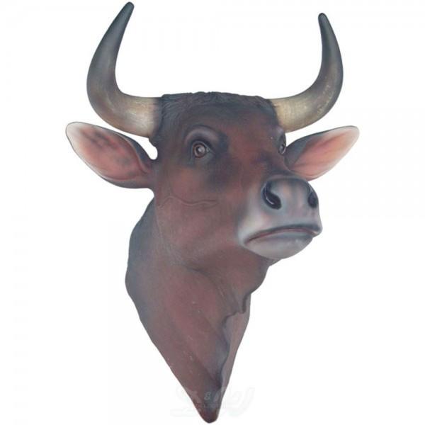 Bullen-Kopf (lebensgroß)
