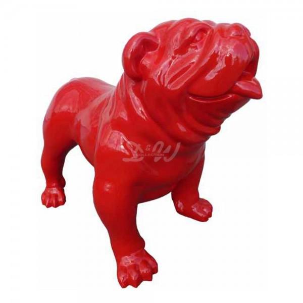 englische Bulldogge Hund rot (groß)