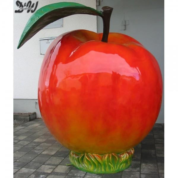 Apfel XXXL 180 cm rot
