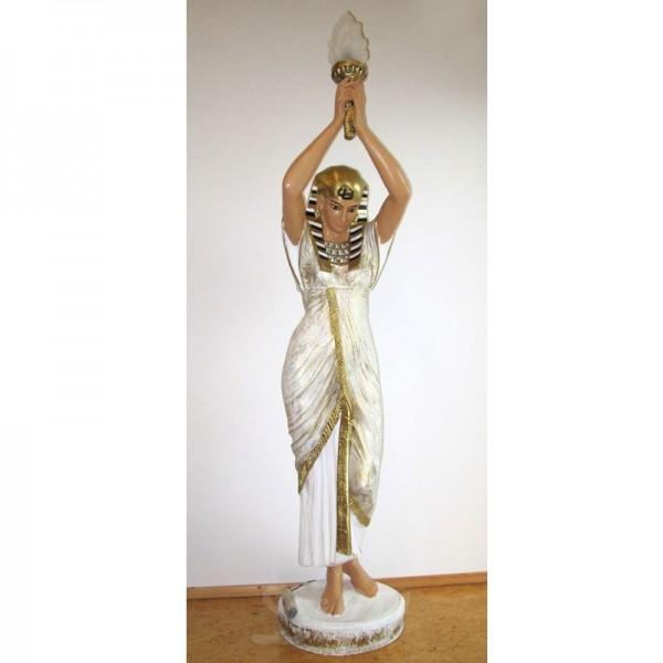ägyptische Frau mit Lampe (lebensgroß)