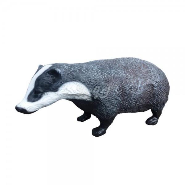 D&W Collection Deko Werbe Wild Raub Tier Figur Dachs Marder Wald Garten Dekoration Werbung günstig kaufen