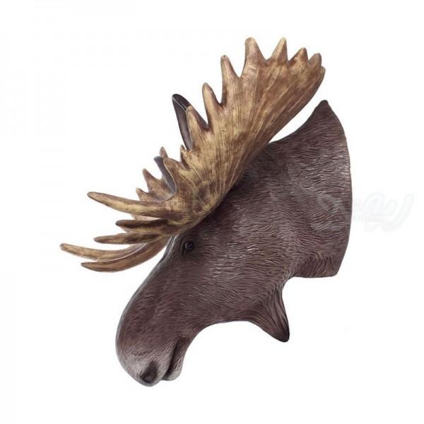 Elch-Kopf (lebensgroß)