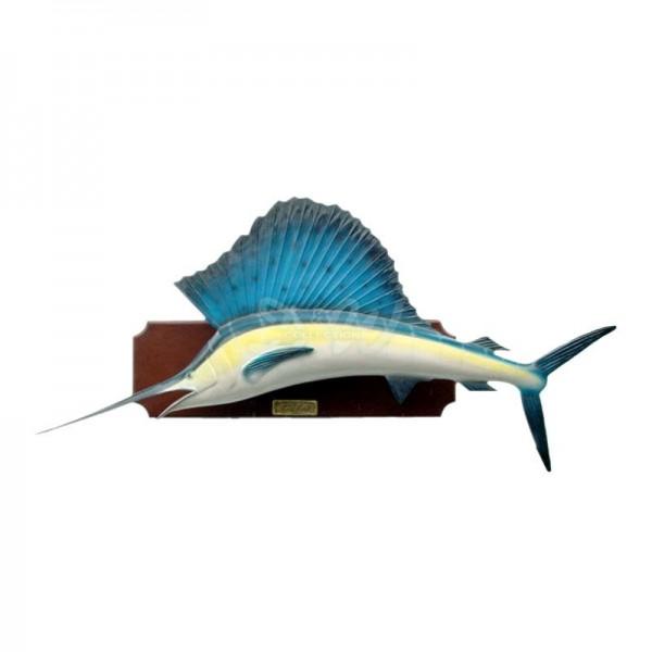 Schwertfisch / Segelfisch 195 cm (auf Holzplatte)