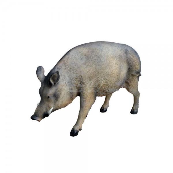 D&W Collection Deko Werbe Wald Wild Tier Figur Wildschwein Keiler Garten Dekoration Werbung günstig kaufen