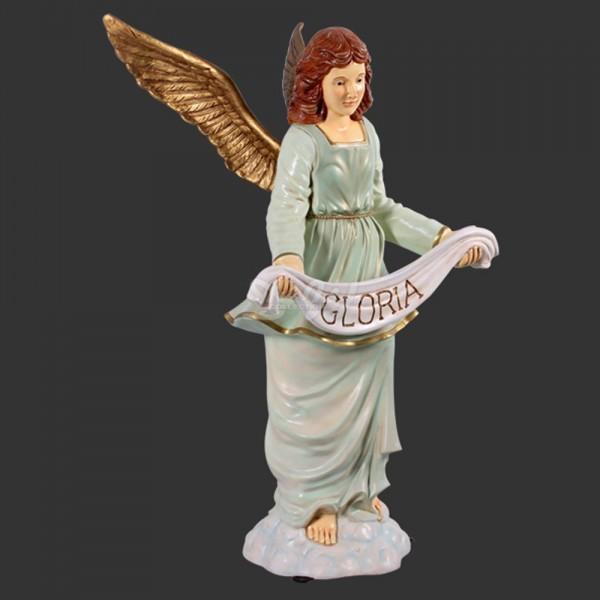 D&W Collection Weihnachts Deko Werbe Figur Weihnachten Krippenfigur Engel Gloria Advent Dekoration Garten Werbung günstig kaufen