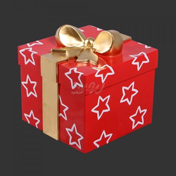 D&W Collection Deko Werbe Figur Geschenk Box Schachtel Weihnachten Weihnachtsmann Advent Weihnachts Dekoration Garten Werbung günstig kaufen