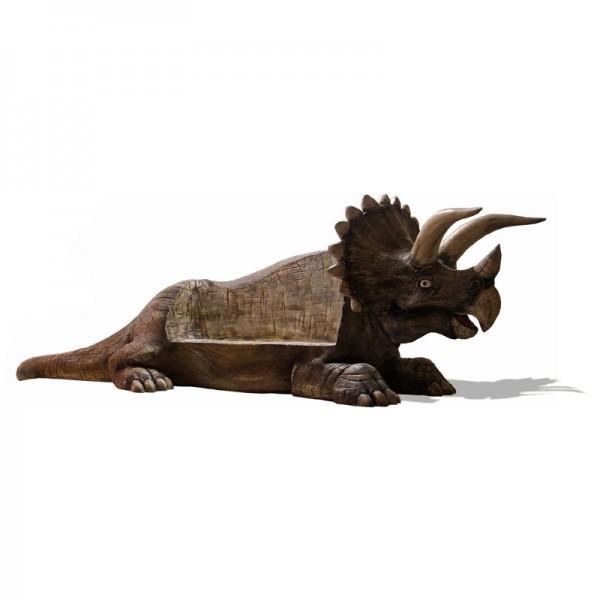 Dinosaurier Triceratops 480 cm als Sitzbank