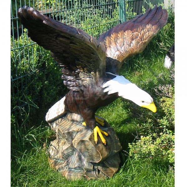 Adler auf Fels (groß)