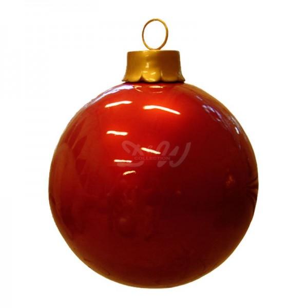 Weihnachtsbaum-Kugel 60 cm Durchmesser rot zum Aufhängen