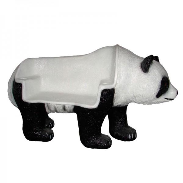 Pandabär Pandabank stehend als Sitzbank (lebensgroß)