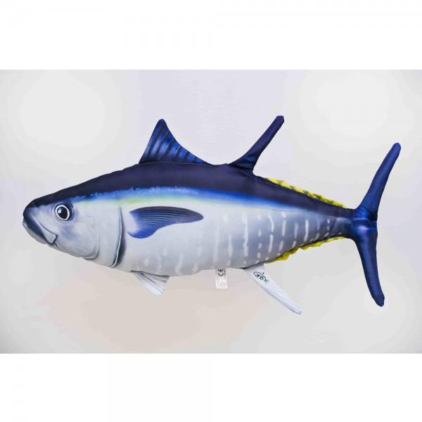 D&W Collection Deko Werbe Figur Fischkissen Thunfisch Tuna Kuschelkissen Geschenk Angler Kinder Angel Sport