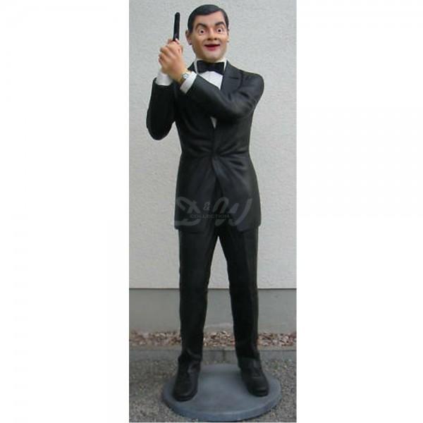 D&W Collection Deko Werbe Figur Kino Film Schauspieler Mr. Bean Johnny English Werbung