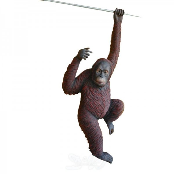 Orang Utan Affe hängend (lebensgroß)