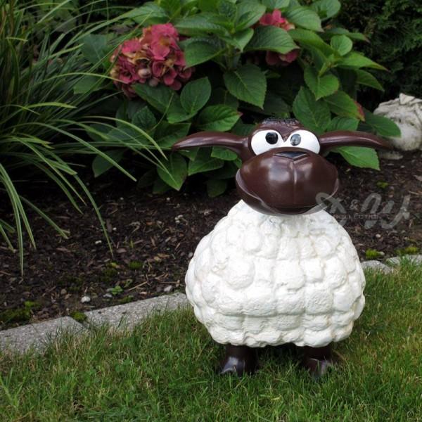 Wölkchen Schaf weiß (klein) brauner Kopf
