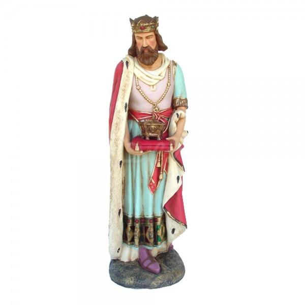 Heilige 3 Könige - König #3 stehend Krippenfigur (lebensgroß)