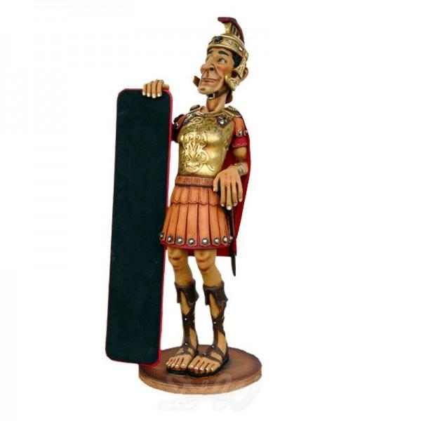 Centurio Römer mit Tafel (lebensgroß)