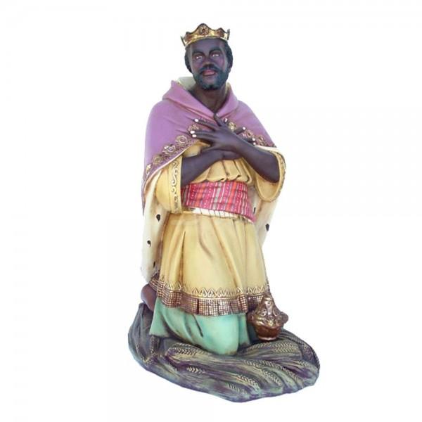 Heilige 3 Könige - König #1 kniend Krippenfigur (lebensgroß)