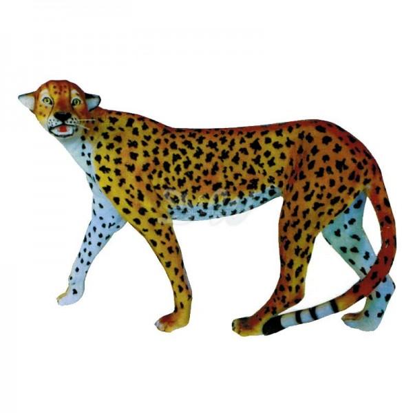 Gepard stehend Kopf zur Seite (lebensgroß)