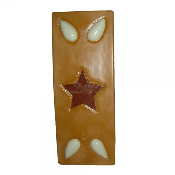 Lebkuchen mit Mandeln und Stern 160 cm