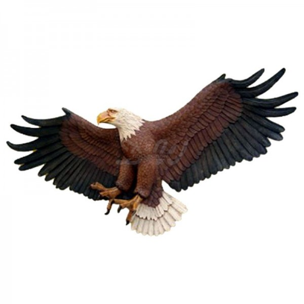 Adler als Wanddekoration (lebensgroß)