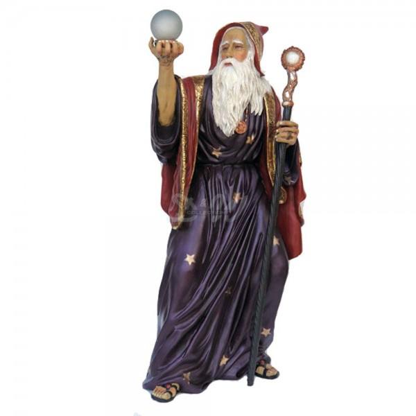 Zauberer Merlin (lebensgroß)