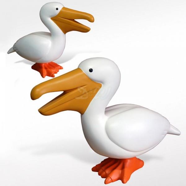 Pelikan stehend (lebensgroß)