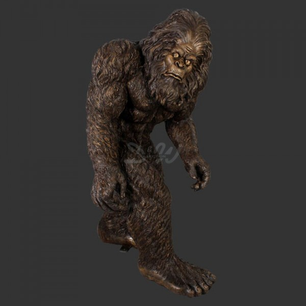 D&W Collection Deko Werbe Tier Figur Bigfoot Yeti Sasquatch Kreatur Garten Dekoration günstig kaufen
