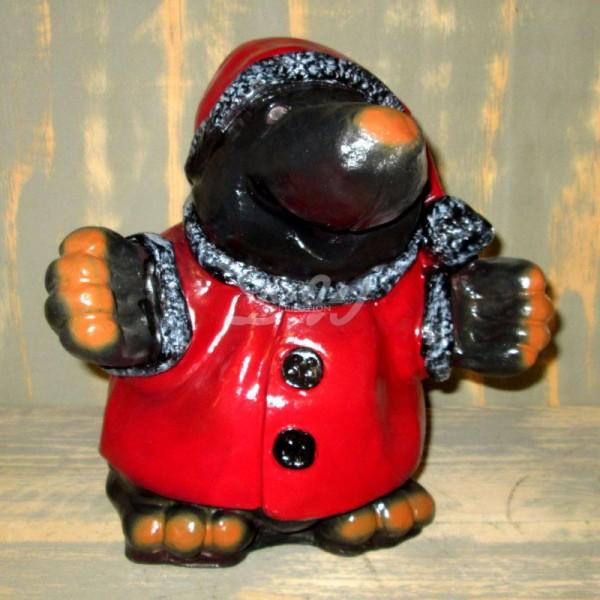 """Weihnachtsmann / Nikolaus """"Knuffi"""" Maulwurf"""